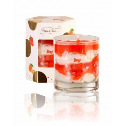 BOUGIE BIJOUX CHANTILLY FRAISE